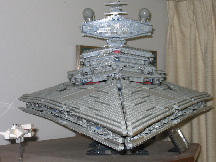 Lego Sculpture - Star Destroyer | Lego Sculptures | Lego ...