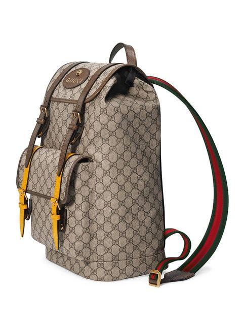 e727e3e324bc Gucci Soft Gg Supreme Backpack In Neutrals