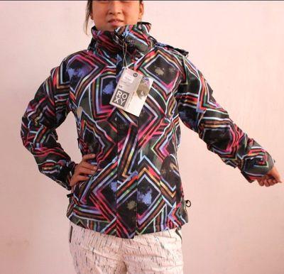 Абсолютно подлинные ROXY лыжный костюм куртка прилив женские модели странным и даже тарелка специальный зазор перевозки лыж одежду - Taobao