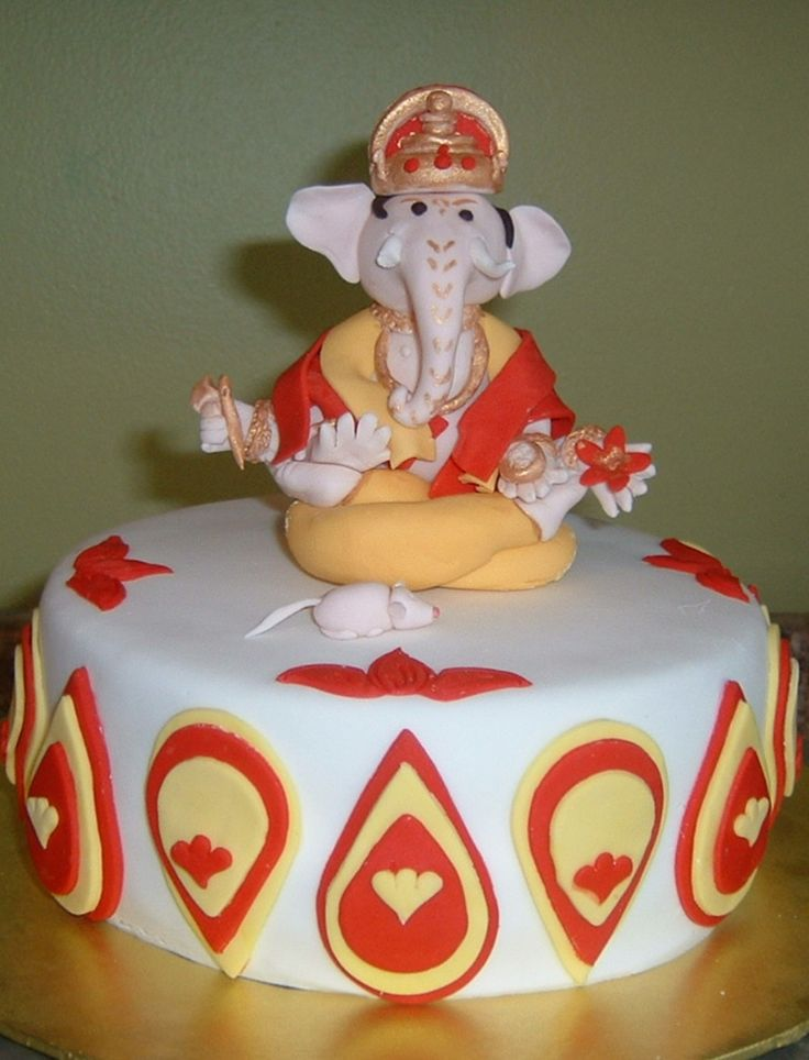 Ganesh birthday cake