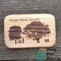 Finnish Wood Geocoin LE (Tammi)