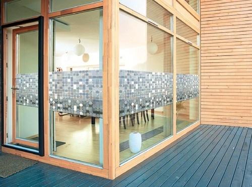 """(€ 14,- /m) LINEA """"Formas"""" Top Qualität Fensterfolie Sichtschutz Glas Dekor"""