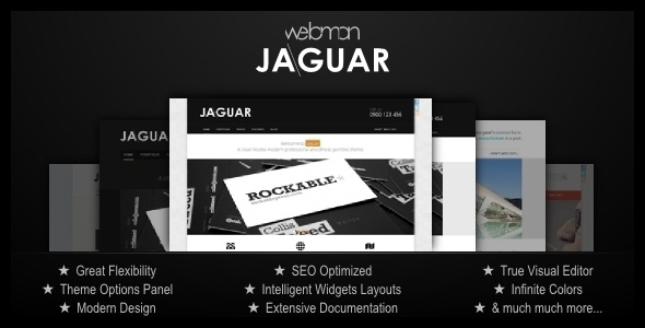Themeforest Jaguar v1.3 – Professional Portfolio WordPress Theme    Jaguar uncovers suprisingly simple and creative way of editing WordPress websites. It is fun to work with and offers great flexibility both on front- and back-end sid