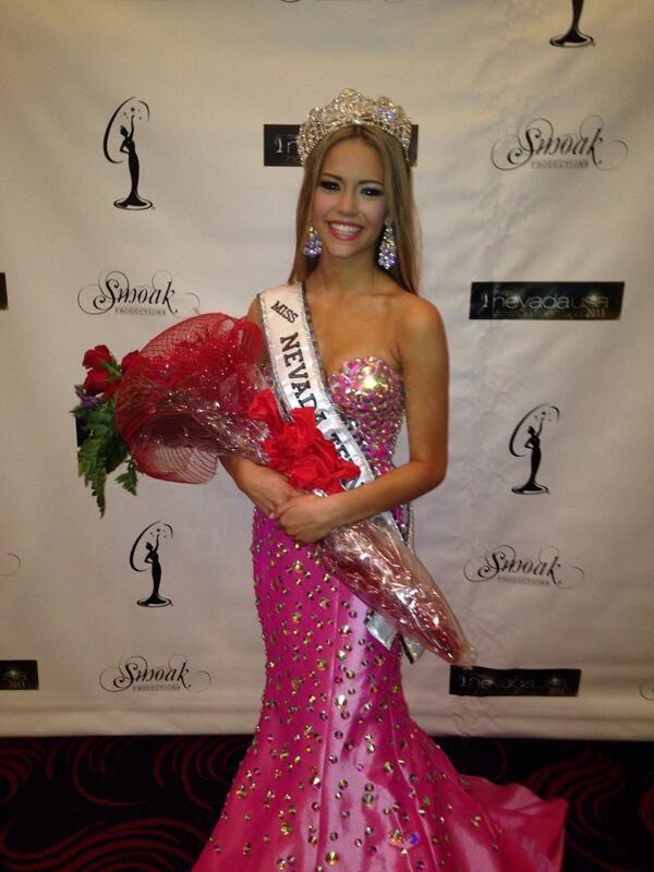 Alexa Taylor Crowned Miss Nevada Teen USA 2014