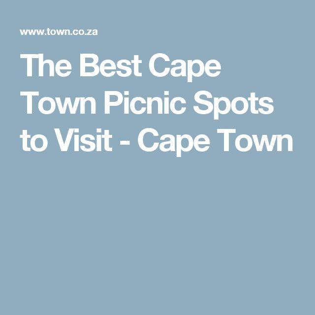 The Best Cape Town Picnic Spots to Visit - Cape Town