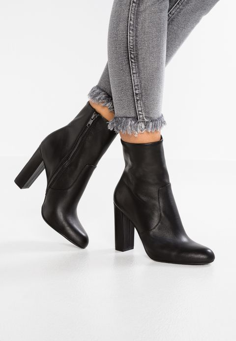 Steve Madden EDITOR - High heeled ankle boots - black - Zalando.co.uk