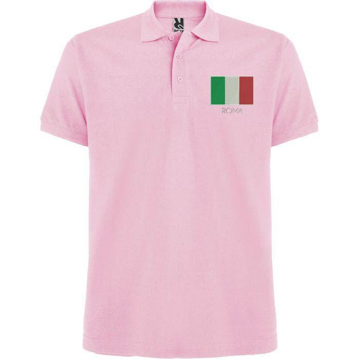 Polo Original Bordado con la Bandera de Italia de SportShirtFactory en Etsy
