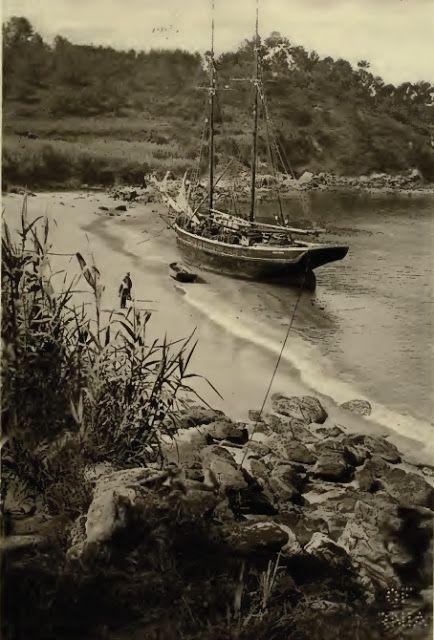 Mogor: Playa de Portocelo (1918) - Kurt Hieschler