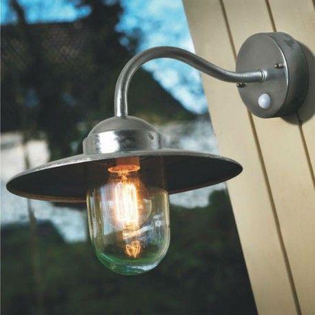 M s de 1000 ideas sobre lampe exterieur avec detecteur en - Applique exterieur retro ...