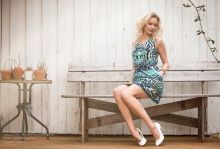 S/S 2015 Dress in cotton  www.juliejespersen.com