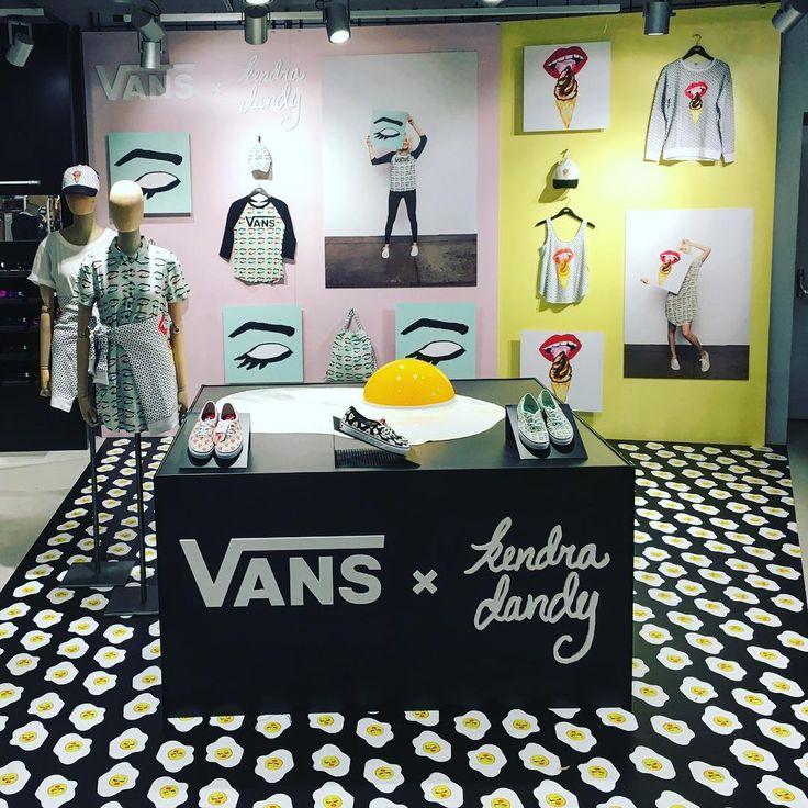 """LA RINASCENTE, Milan, Italy, """"Vans x Kendra Dandy"""", pinned by Ton van der Veer"""