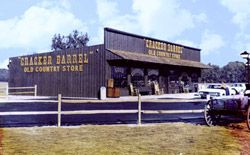 The Original The Cracker Barrel Old Country Store® Lebanon Tennessee. Cracker Barrel Corp hours buy this building and turn it into a museum.