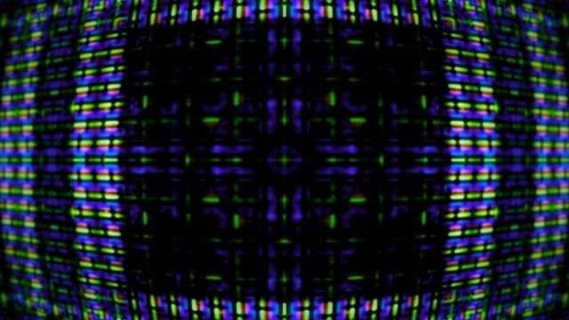 Video Flux 023: Television screen pixels fluctuate with color and video motion (Loop).   A Luna Blue  http://www.alunablue.com  Imagery for Your Imagination