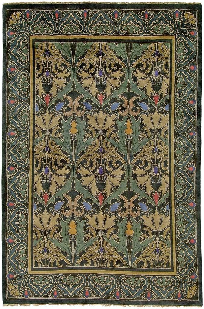 43 Best Images About Arts And Crafts Rugs On Pinterest