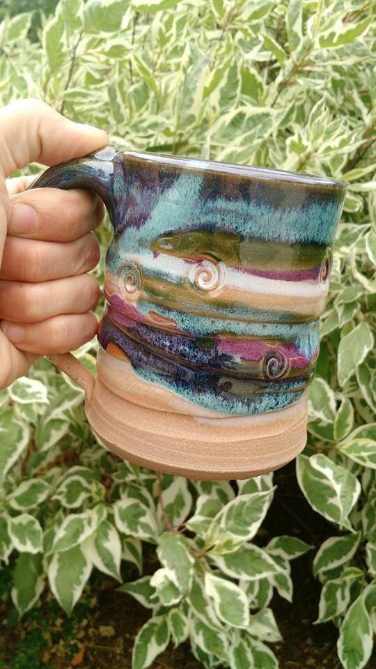 The 2721 best Pottery: Mugs images on Pinterest | Big glasses ...