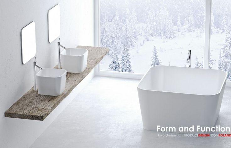 'Form and Function' PRODUCT DESIGN FROM POLAND ISH 2015 | EXSPACE / Balia Collection design: Marcin Jędrzak | www.jedrzak-design.com manufacturer: Marmorin (Hall 4.2 C41) www.marmorin.pl