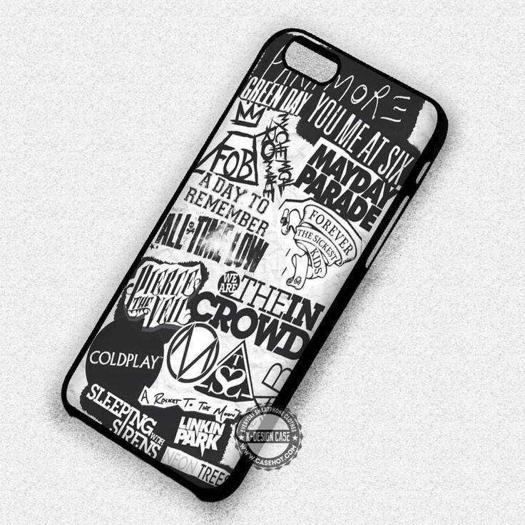 Band Logo Paramore - iPhone 7 6 Plus 5c 5s SE Cases & Covers