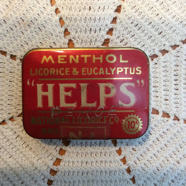 Vintage Help's Licorice Pellets Advertising Tin, Antique Farmhouse Medicine Cabinet by MargiesCoolStuff on Etsy