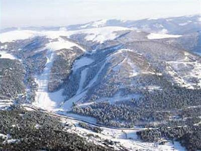La Bresse ski slopes (Vosges - South of Nancy)