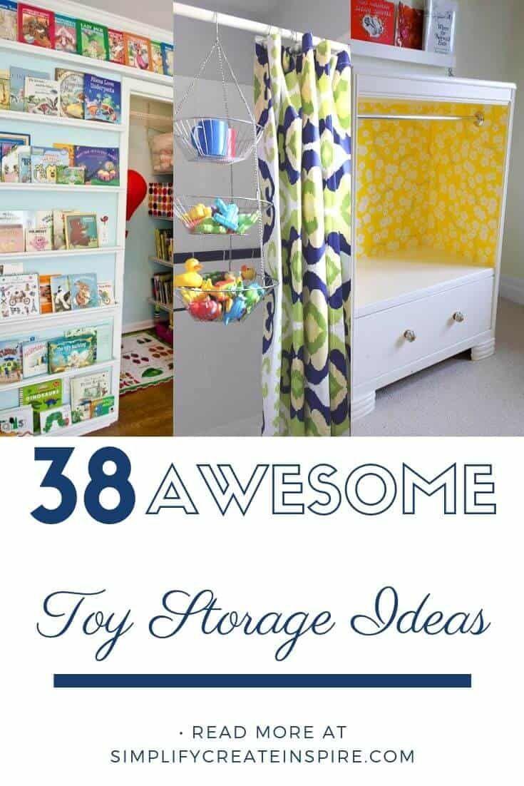 38 Awesome Toy Storage Ideas Toy Storage Toy Storage Solutions Kid Toy Storage