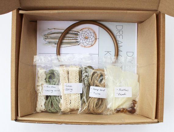 DIY Dream Catcher Kit 5 Dream Catcher by MakingThingsHappen