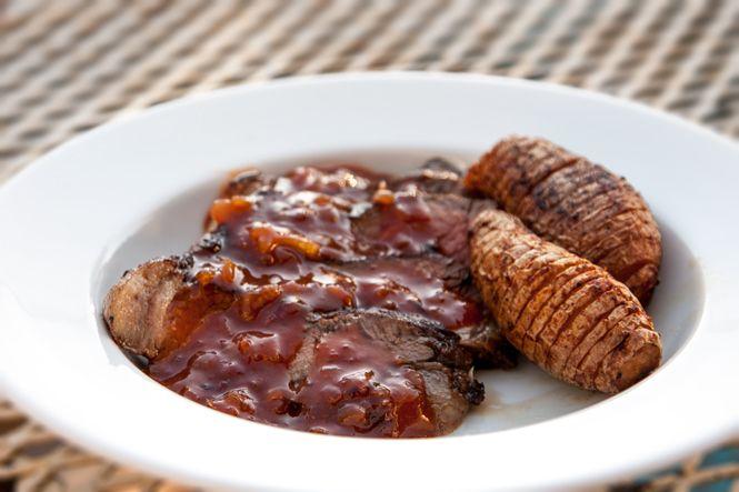 Spicy Grilled Strip Steak