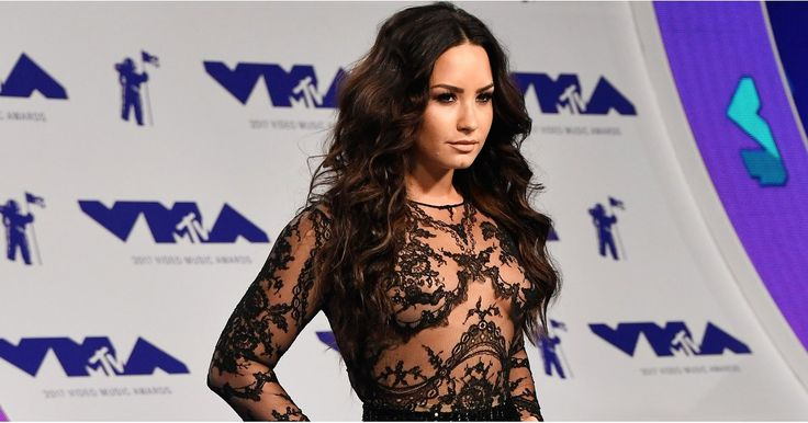 Demi Lovato Wears Sparkly MC Hammer Pants to the VMAs -and Totally Freaking Works Them