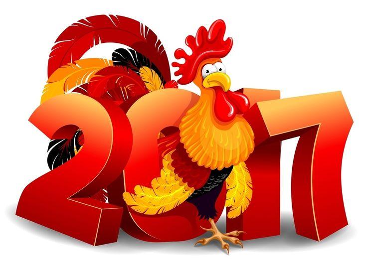 новый год 2017, год петуха, китайский новый год, 2017, с новым годом
