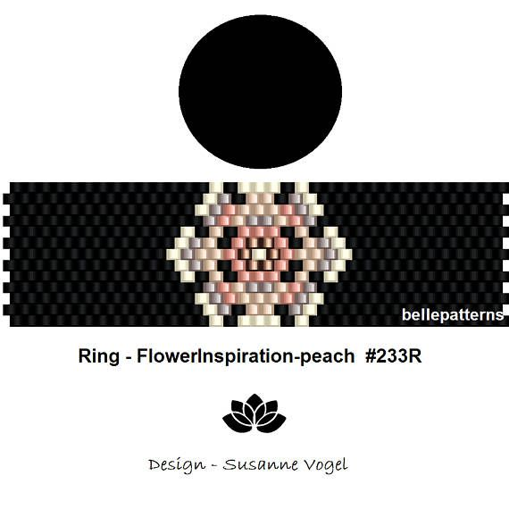 The 750 best jewelry beading 1 images on pinterest peyote ring size cm x cm x odd count beads miyuki delica coupons codes fandeluxe Gallery