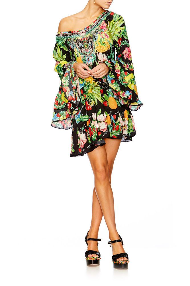 Camilla Franks Call Me Carmen A Line Frill Dress Size M Fashion Clothing Shoes Accessories Womensclothing Dresses Frill Dress Dresses Camilla Clothing