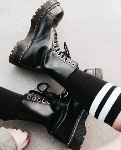 DOC'S & SOCKS: The BXB with double sole, worn by awkwrd.bby.