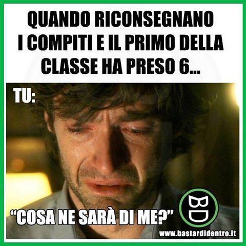 Seguici su youtube/bastardidentro #bastardidentro #compito #scuola www.bastardidentro.it