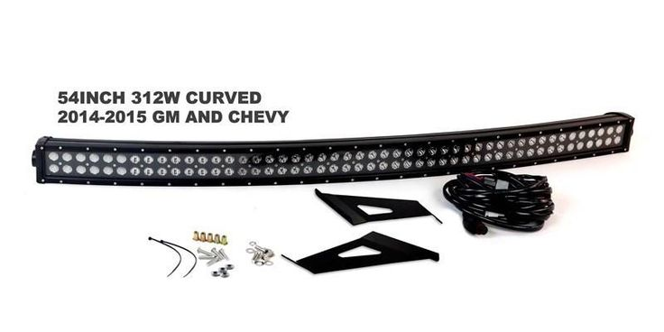 """54"""" Race Sport Nuclear Blacked Out Series for 14-15 Chevy & GMC (Vehicle Specific Kit)"""