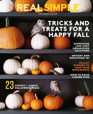 Subscribe to Real Simple - Real Simple is a magazine about simplifying your life. With tips on home d?cor, cooking, and other aspects of family life, Real Simple is a highly-informative magazine.