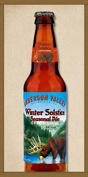 Winter Solstice - Anderson Valley Brewing Company - Meant to try this this winter & totally forgot.