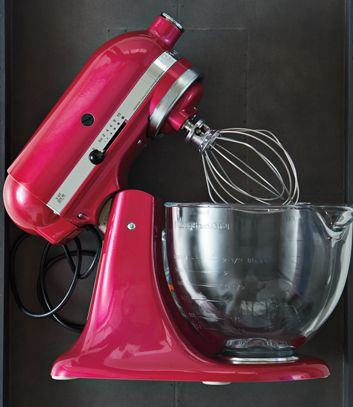 Each time a Stand Mixer in Raspberry Ice is sold, KitchenAid Canada will donate $75 to the Canadian Breast Cancer Foundation.