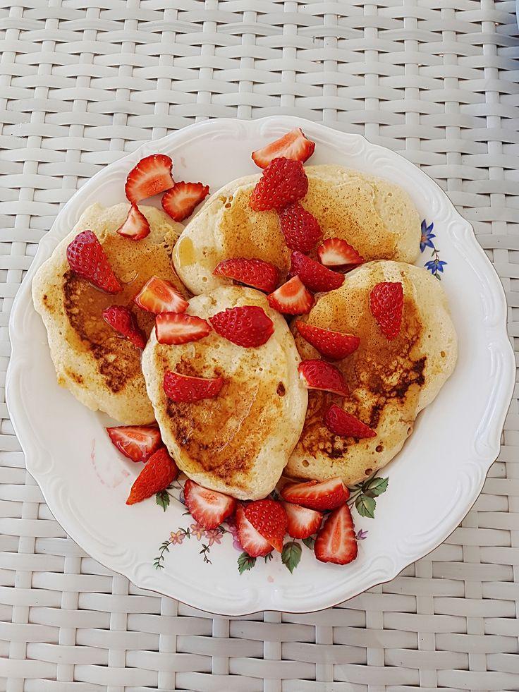Fluffy amerikanske pannekaker til søndagsfrokost – Gina Kristine