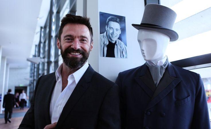 Hugh Jackman at his old acting academy, WAAPA (Western Australian Academy of Performing Arts)