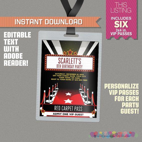 Best 25+ Vip pass ideas on Pinterest 21st birthday invitations - free vip pass template