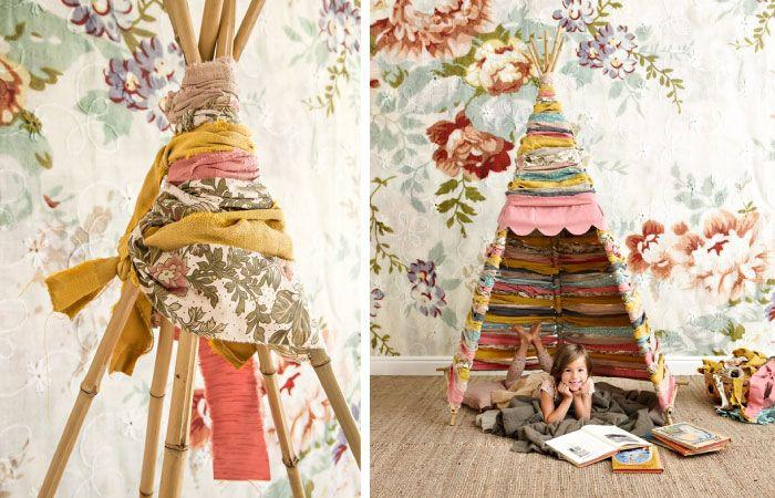 25 beste idee n over tipi kinderen op pinterest kinder leestent - Kinderen slaapkamer decoratie ideeen ...