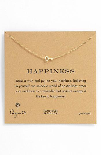 """Felicidad : """" Pide un deseo y poner en su collar, creer en uno mismo puede desbloquear un mundo de posibilidades , lleve su collar como un recordatorio de que la energía positiva es la clave de la felicidad ! """""""