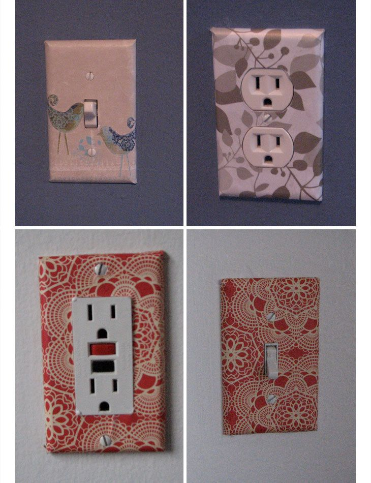 Wallpaper Covered Sockets | DIY Home Decor Ideas on a Budget | Easy and Creative Decor Ideas | Click for Tutorial