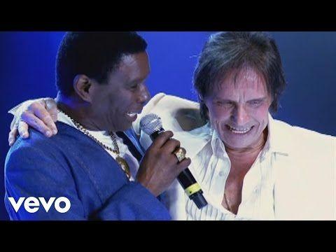 Roberto Carlos - Angela / Eu e Ela (Vídeo Ao Vivo) ft. Neguinho Da Beija Flor - YouTube