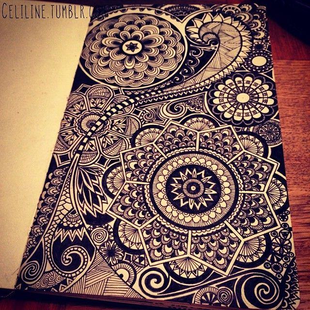 DETAILS #zentangle #doodle #drawing #moleskine #posca #illustration #sketchbook #sketches #sketching #notebook  #artwork #zendoodle #creativ...