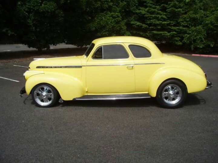1940 Chevy business coupe   Chevy   Pinterest   Chevy ...