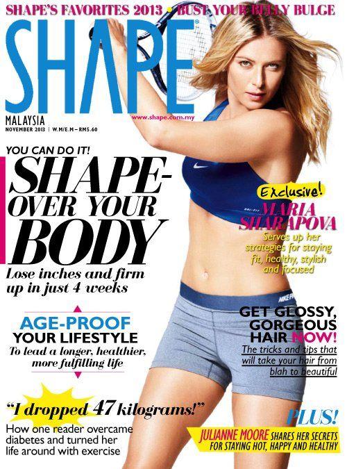 Maria Sharapova (2013.11. Shape) #MariaSharapova