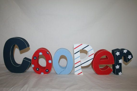 Hey, I found this really awesome Etsy listing at https://www.etsy.com/listing/107878530/baby-boy-nursery-letters-childrens-room
