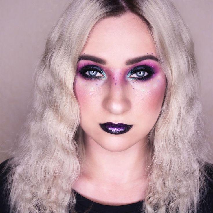 Northen lights makeup
