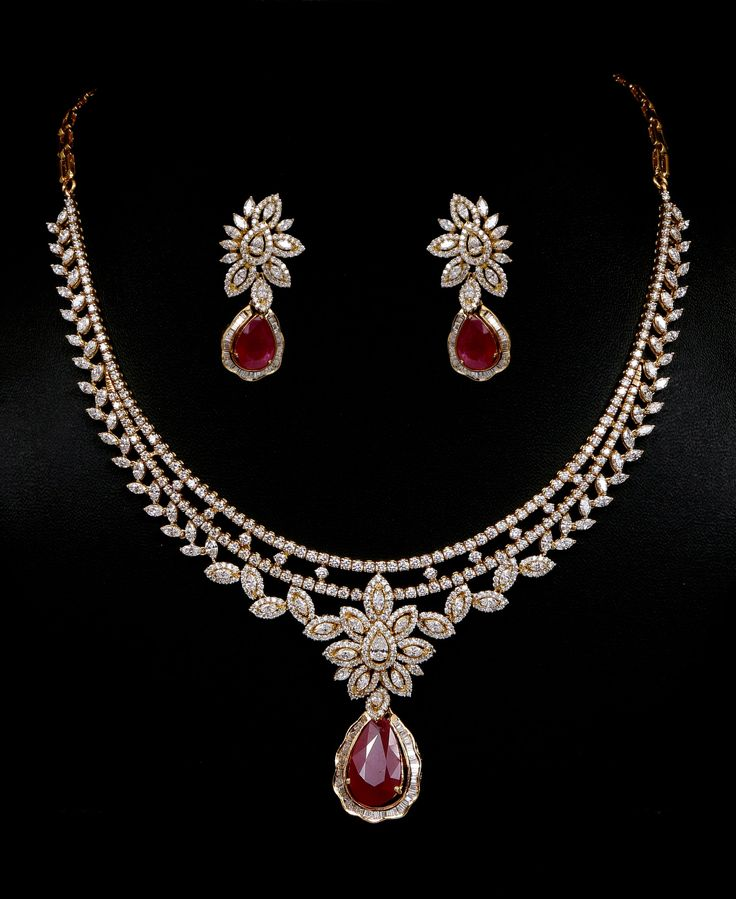 17 best ideas about ruby necklace on ruby