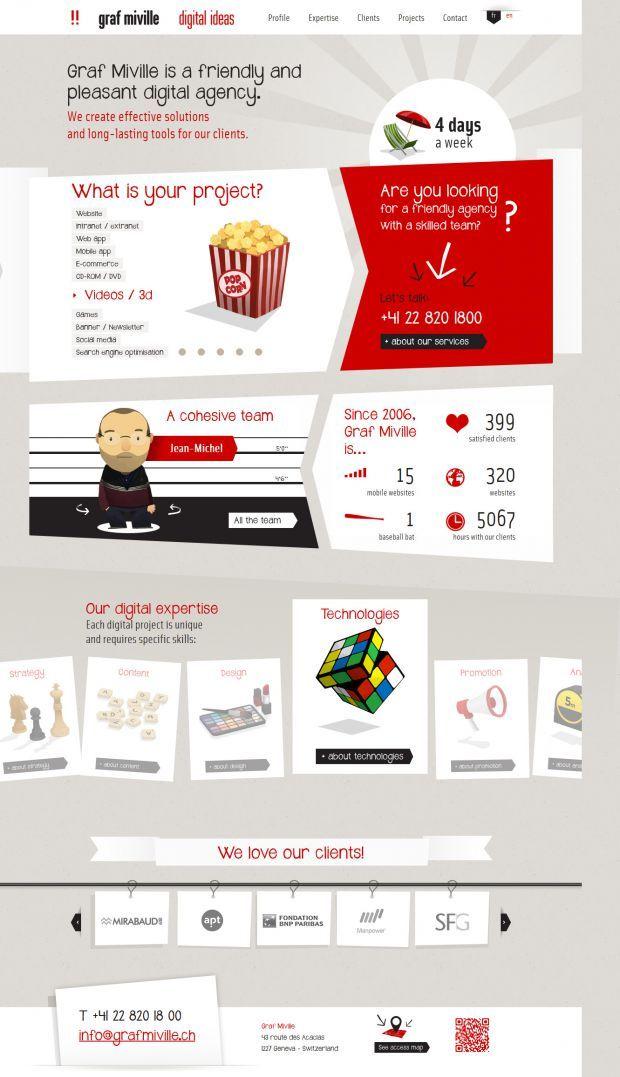 graf miville - digital ideas - Best website, web design inspiration showcase, #it #web #design #layout #userinterface #website #webdesign <<< repinned by www.BlickeDeeler.de